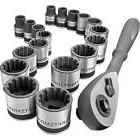 "Craftsman Socket Wrench Set 19 PC 3/8"" Universal Inch/Metric"