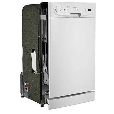 "SPT Energy Star 18"" in Built in Dish washer White Energy Sta"
