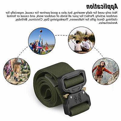 Adjustable Buckle Combat Waistband Rescue Rigger