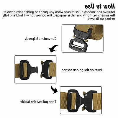 Adjustable Buckle Combat Waistband Tactical Rescue Tool