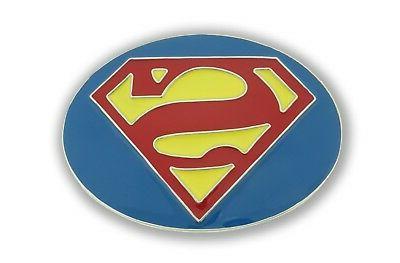 Superman Belt Buckle USA DC Comics American Superhero Movie