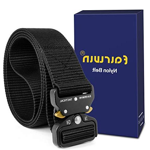 tactical belt military style webbing riggers web