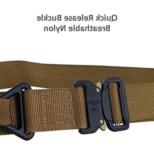 Fairwin Tactical Rigger's Military Webbing Riggers Nylon Heavy-Duty and Triangular