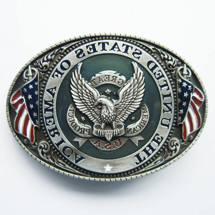 u s a american flag eagle metal
