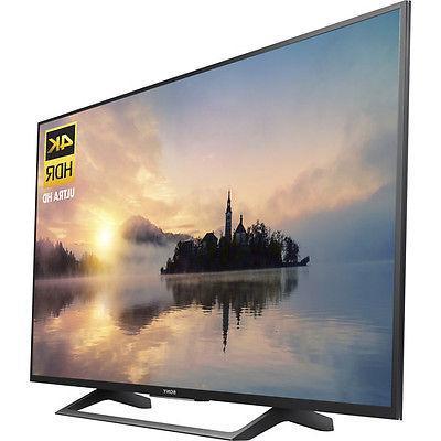 Sony 4K HD Smart TV 2017 Model 3 x 3 Inputs