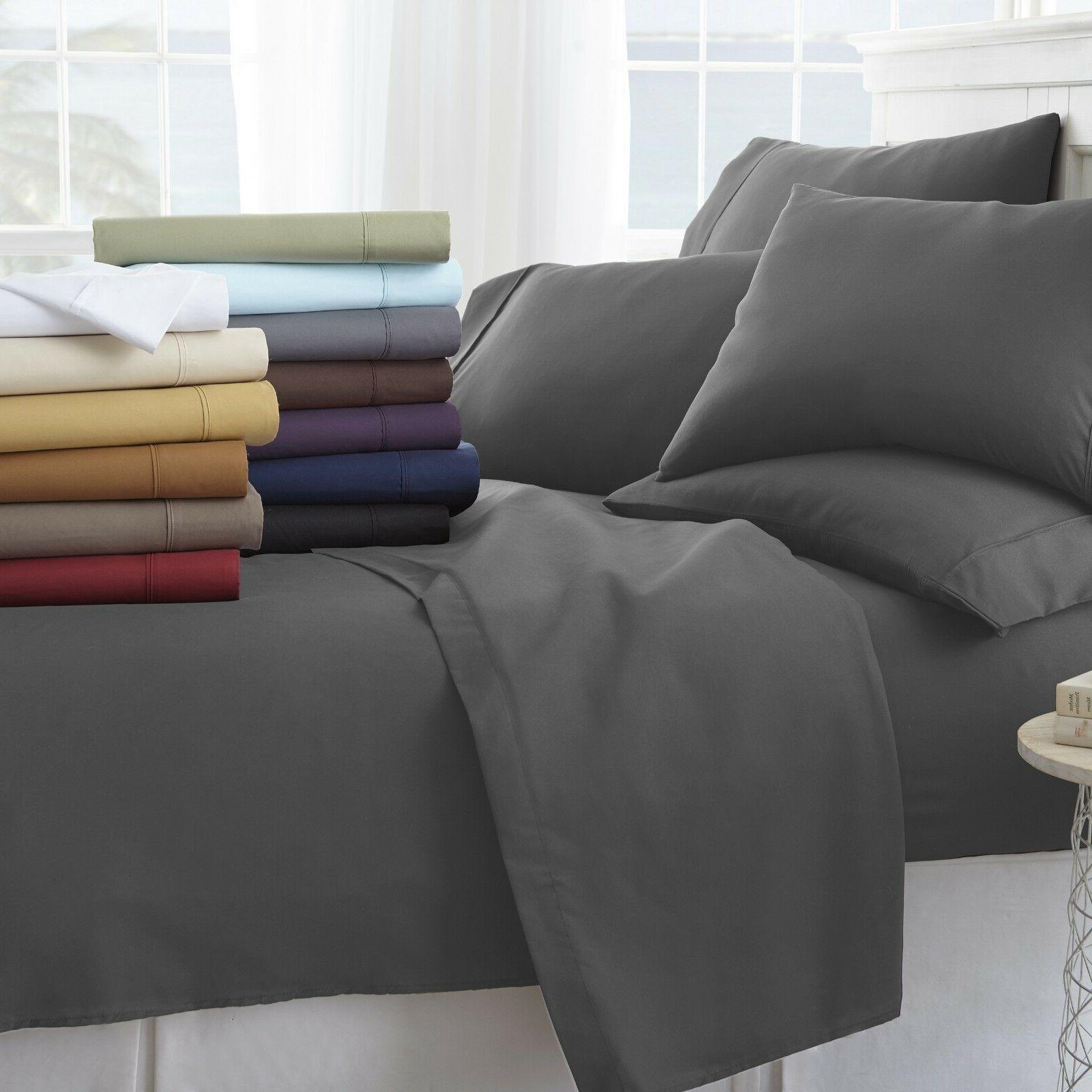 ultra soft cozy 6 piece bed sheet