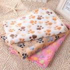 Pet Blanket Cat Dog Puppy Soft Warm Fleece Bed Mat Cushion S