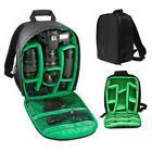 Waterproof DSLR SLR Camera Lens Backpack Bag Case Rucksack F
