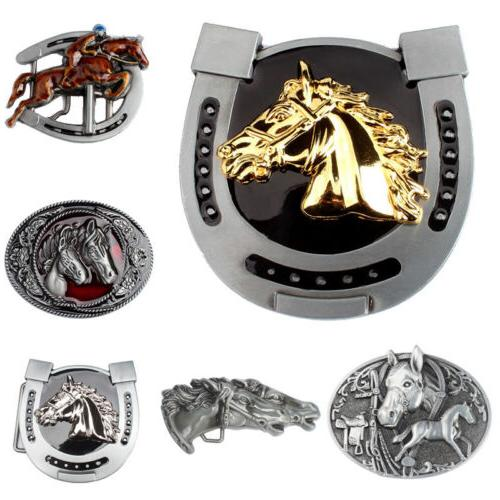 Western Men's Belt Buckle Vintage Pattern