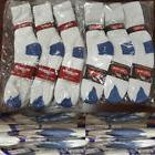 Wholesale Bulk Lots Men's White/Blue Sports Casual Cotton Cr