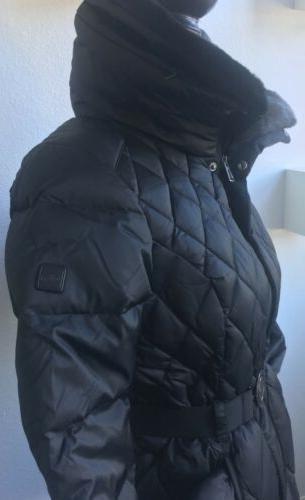 The Apres Parkina Down Jacket in Black