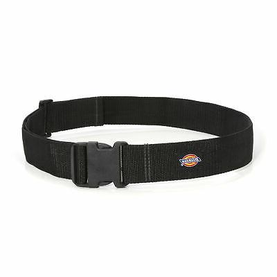 Dickies 2 in. Wide Black Webbing Tool Belt for Utility and W