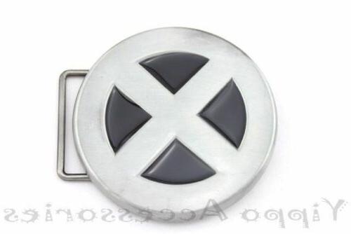 x men metal belt buckle