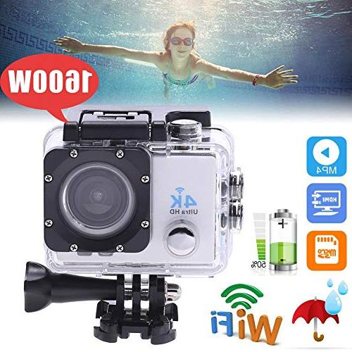 Youitankai Car Waterproof 4K WiFi 1080P Ultra Action DVR Cam
