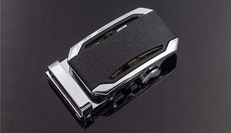 ZPXHYH Fashion Alloy Automatic for 3.5cm Ratchet Men Apparel Accessories
