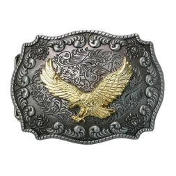 landisun handmade rectangle frame western belt buckle