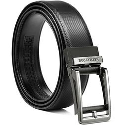 BOSTANTEN Leather Ratchet Dress Belts for men with Automatic