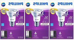 Philips LED 6W  PAR20 Bright White Bulb, 9 Pack