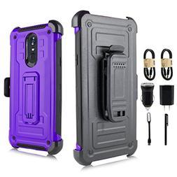 LG Stylo 4 Case, LG Q Stylus Rugged Case,  Full-Body Rugged
