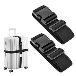 Luxebell Luggage Straps Suitcase Belt Add-A-Bag Travel Acces
