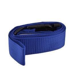 Luggage Suitcase Plastic Clasp Nylon Belt Adjustable Buckle