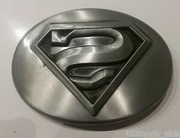 ✖ MAN OF STEEL SUPERMAN DC COMICS ~ Belt Buckle Antique si