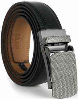 Marino Avenue MenRsquo;S Genuine Leather Ratchet Dress Belt