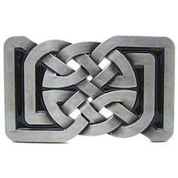 masop square keltic celtic knot belts buckle