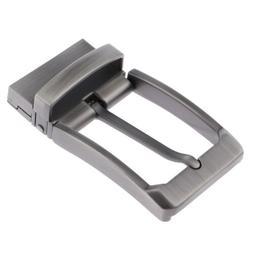Men Alloy Reversible Belt Buckle Replacement Antique Pin Buc