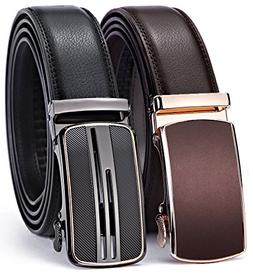 Bulliant Men Belt-Leather Ratchet Belt for Men Dress 1 3/8""