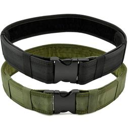 Men Belt Outdoor Hiking Sports Military Nylon Tactical Belt