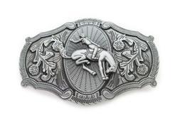 Men Biker Silver Metal Trucker Belt Buckle USA United State