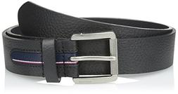 Tommy Hilfiger Men's 1 1/2 in.Gnarled Buckle with Signature