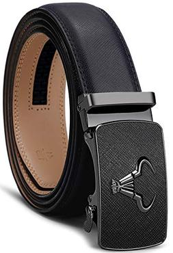 Men's Belt,Bulliant Branded Ratchet Belt Of Genuine Leather