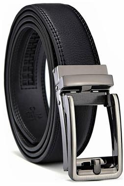 Men's Belt, Bulliant Leather Ratchet Belt For Men Dress With