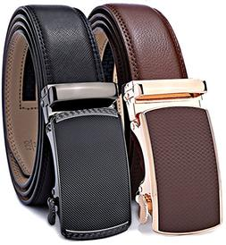 Men's Belt,Bulliant Slide Ratchet Belt for Men with Genuine