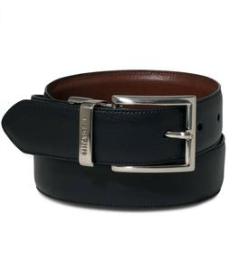 Tommy Hilfiger Men's Big & Tall Reversible Dress Belt Buckle