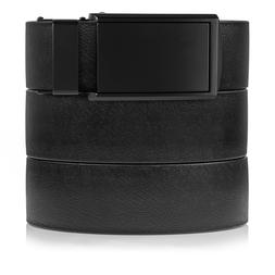 SlideBelts Men's Black Survival Strap  w/ Standard Ratchet B