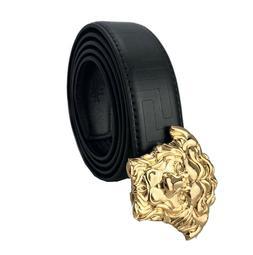 Men's Leather Dress Belt Exact Fit Automatic Buckle Ratchet