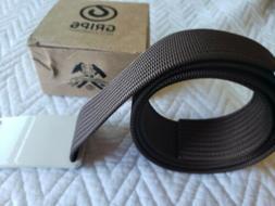 GRIP6 Men's Lightweight Belt Adjustable Nylon Webbing Strap