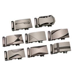 Men's Metal Automatic Slide Buckles Replacement Ratchet Belt