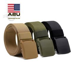 men s plastic cam buckle nylon canvas