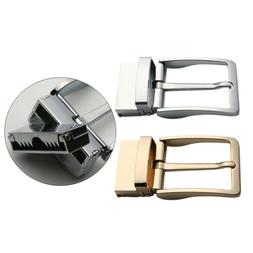 Men's Single Prong Square Belt Buckle Replacement 1.5 inch G