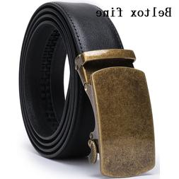 Men's Solid <font><b>Buckle</b></font> with Automatic <font>