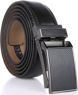 Marino Avenue Men'S Genuine Leather Ratchet Dress Belt Wit