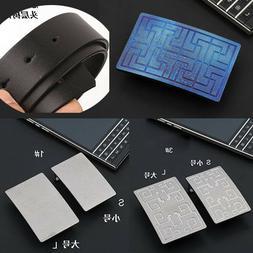 Mens Pure titanium alloy belt buckle Waist Strap head Lightw