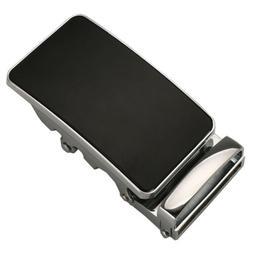 Men's Ratchet Belt Buckle Only 35mm,Automatic Slide Buckle