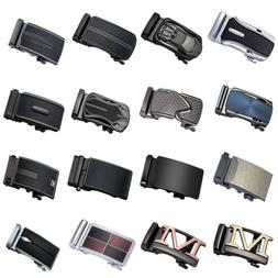Metal Replacement Belt Buckle Automatic Ratchet Fit 3.3cm to