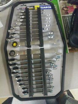 Kobalt 20-Piece Standard and Metric Combination Ratchet Wren