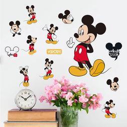Mickey Mouse Minnie Vinyl Wall Decals Sticker for Kids Nurse